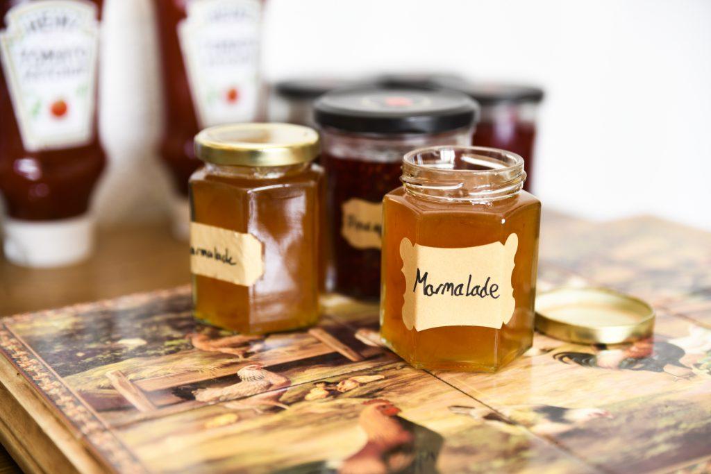 Homemade Jams and Marmalade