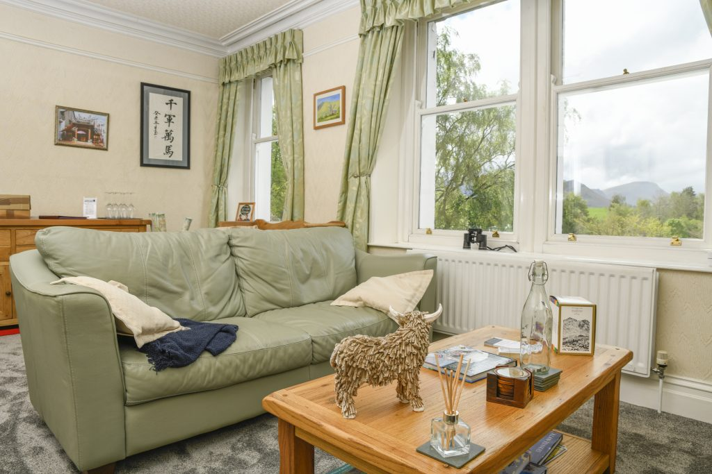Guest Lounge with Fantastic views of the Lake District